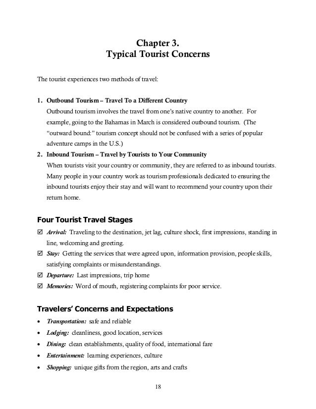 Sample Cv Tourist Guide