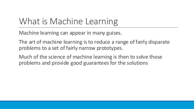 how to start machine learning quora