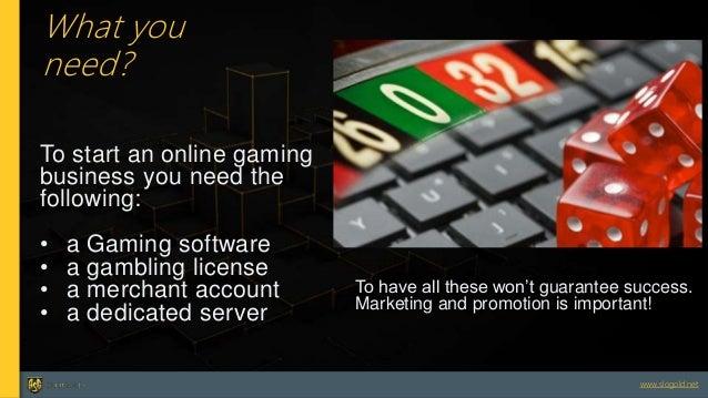 How do i start an online gambling business sprit mountain casino
