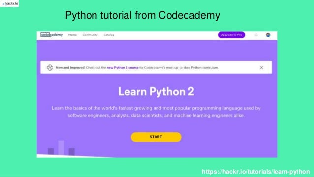 How to start learn python?