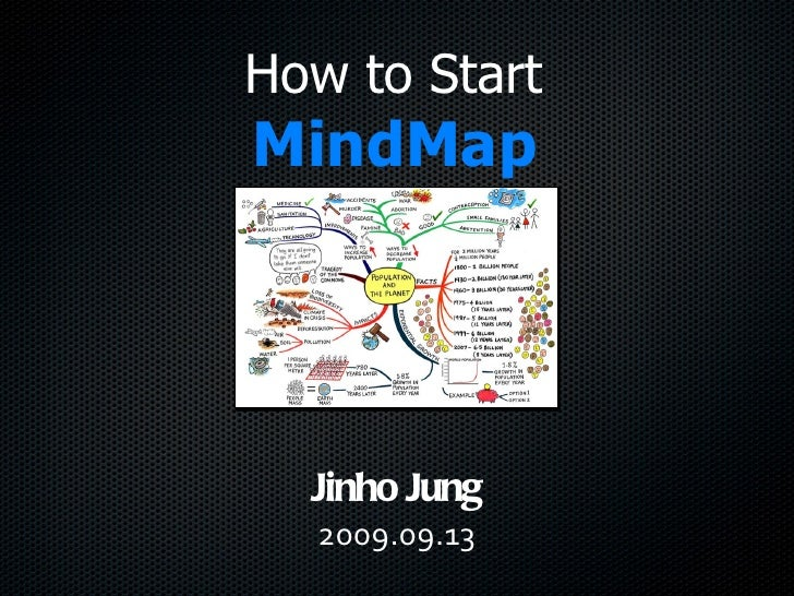 How to Start MindMap Jinho   Jung 2009.09.13