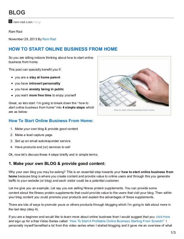 how to start online tutoring from hom e