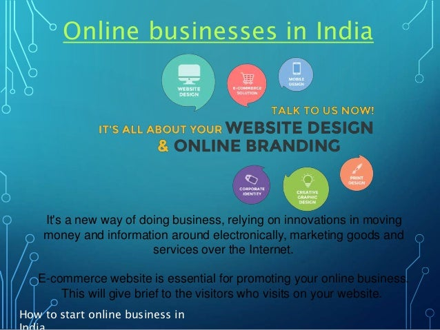 How to start online shopping business in india