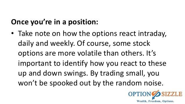 How to successfully trade weekly options
