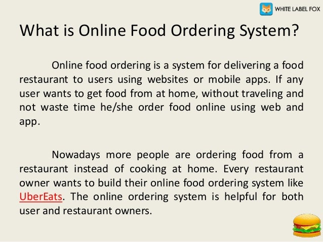 How to Start Your Online Food Ordering Business? Slide 2