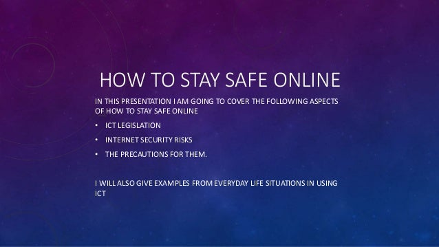 Tru Online Courses >> How to stay safe online