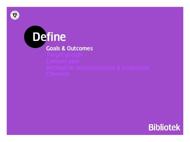 see the      define abubble!     strategy!organize!   step out!