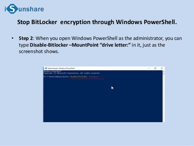 How to Stop BitLocker Drive Encryption