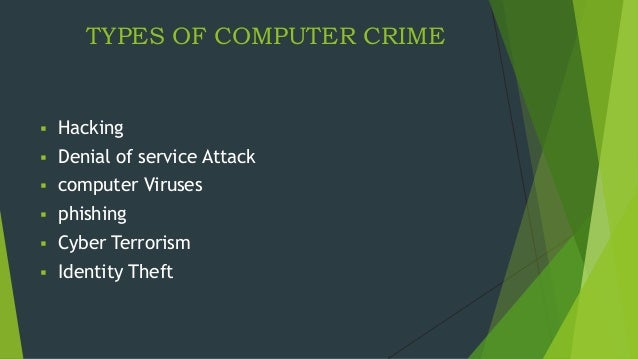 an analysis of computer crimes on how to prevent it Only seeks to analyze the political, economic and social effects of cyber-crimes in organizations but also recommends how one can be made aware and prevent cyber-crimes in organizations as prevention is better than cure keywords: cybercrime, hackers, crackers, cyber threat, cyber-attack, cyber.