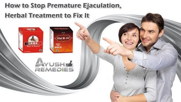 Herbal medicine to stop premature ejaculation