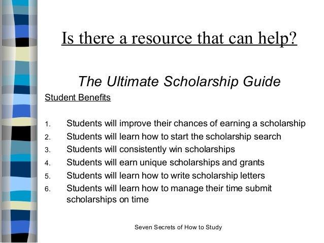 how a scholarship can help essay