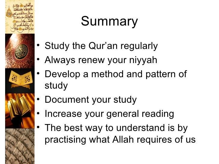 a study of quran The study quran: a new translation and commentary: seyyed hossein nasr, caner k dagli, maria massi dakake, joseph eb lumbard, mohammed rustom: 9780061125867: books - amazonca.