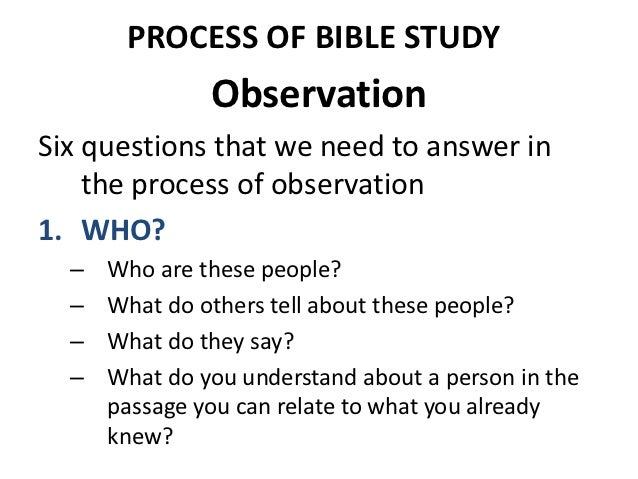 how to study the bible There are a number of ways we can study the bible, but one of the most effective  and simple approaches to reading and understanding god's.