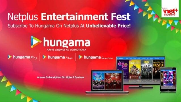 subscribe hungama on netplus broadband and netplus iptv