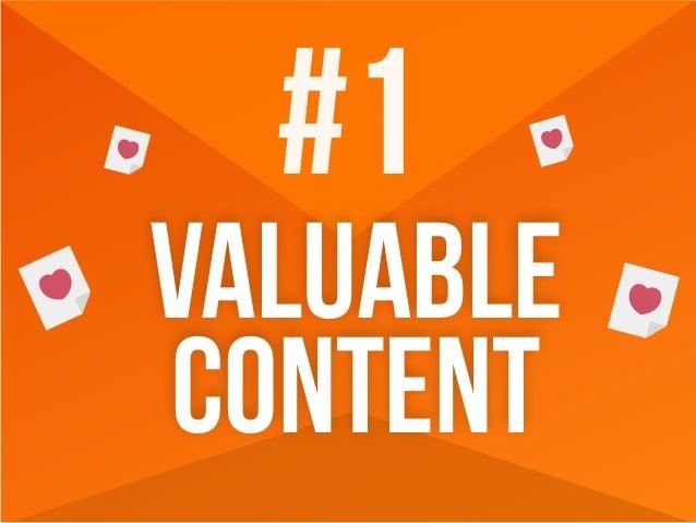 #1 valuable content