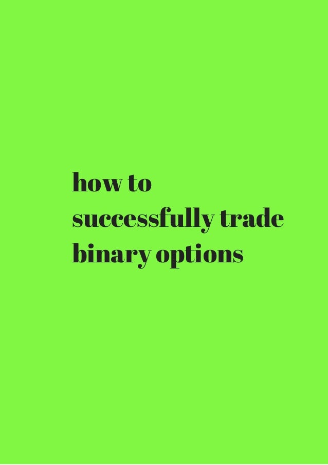 City trade binary options