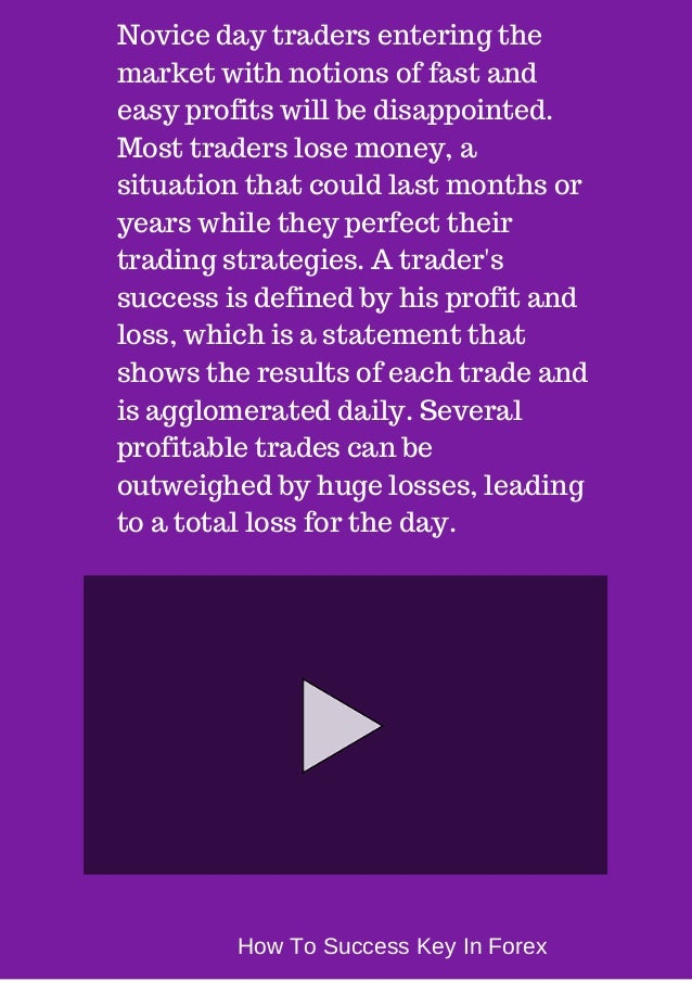 How to suceed on forex