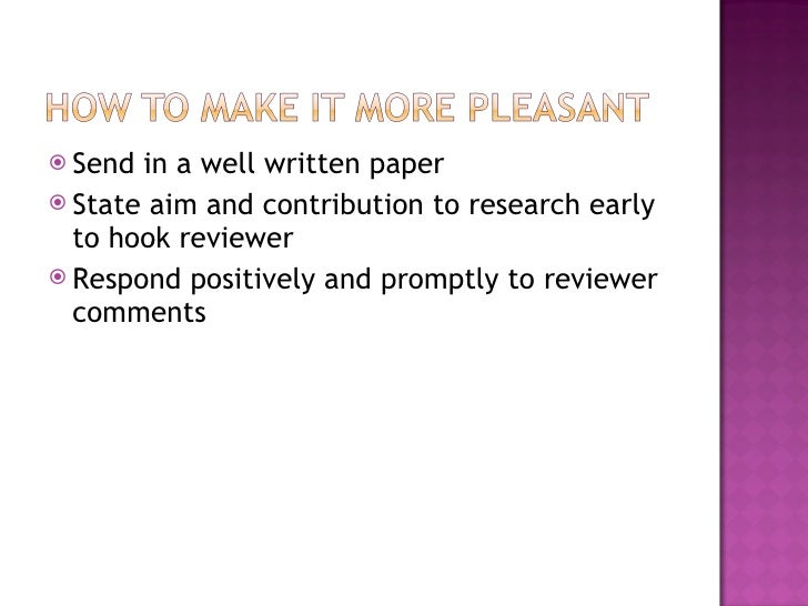 comments research paper review White paper review guide  a white paper should communicate the research concept in light of the  email questions or comments about this website to.
