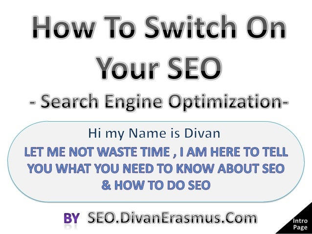 What Does SEO stand For?