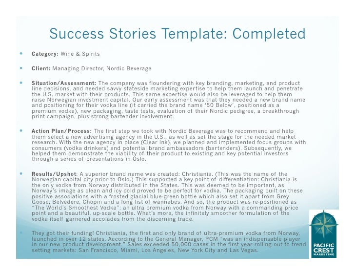 Tell Stories that Sell: the Best Customer Success Story Template
