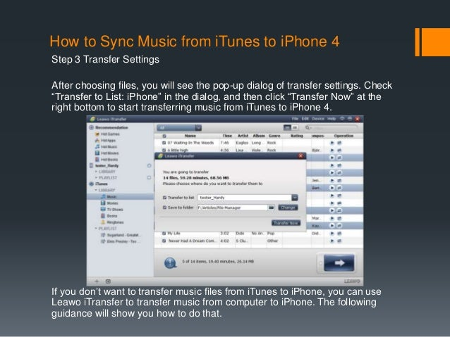 how to transfer music from iphone to iphone how to sync from itunes to iphone 4 21086