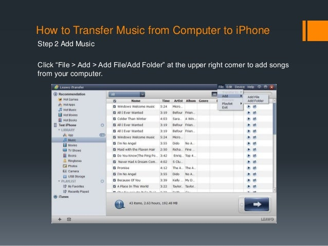 how to add itunes music to iphone how to sync from itunes to iphone 4 19822