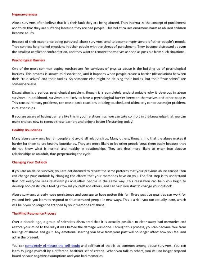2. Hyperawareness Abuse ...