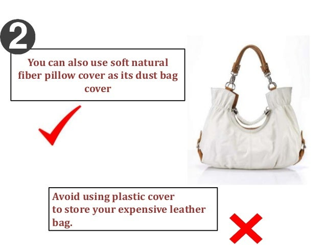 How to take care of your metallic leather bags