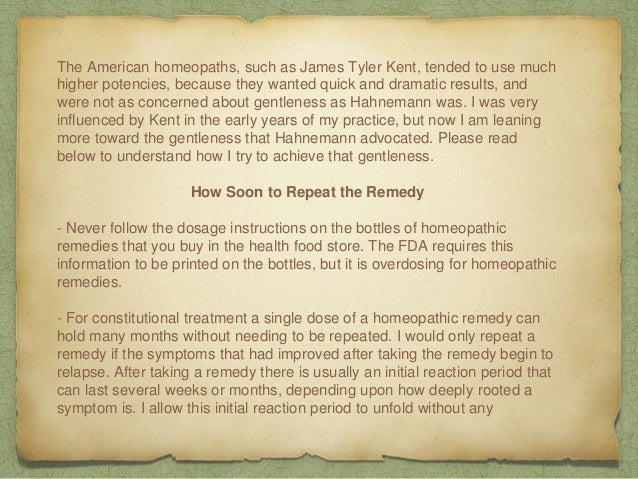 How to Take Homeopathic Remedies Slide 3