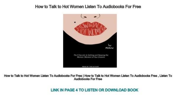 Talk to hot women