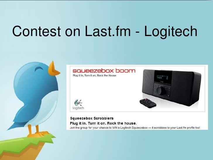 Contest on Last.fm - Logitech