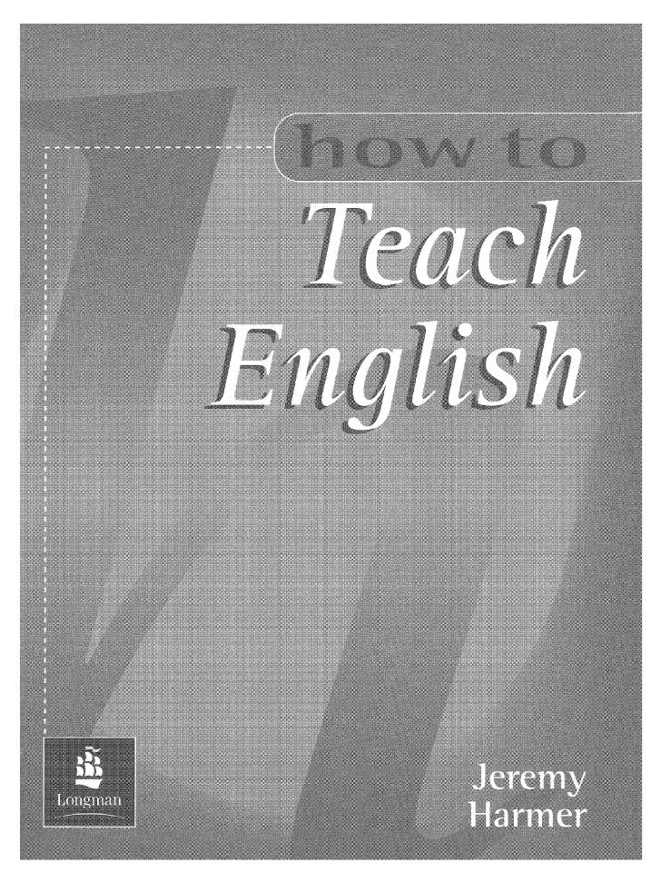 how to teach writing pdf harmer Title: how to teach english by jeremy harmerpdf description: download e-book technique in teaching writing by ann raimespdf download now picture.