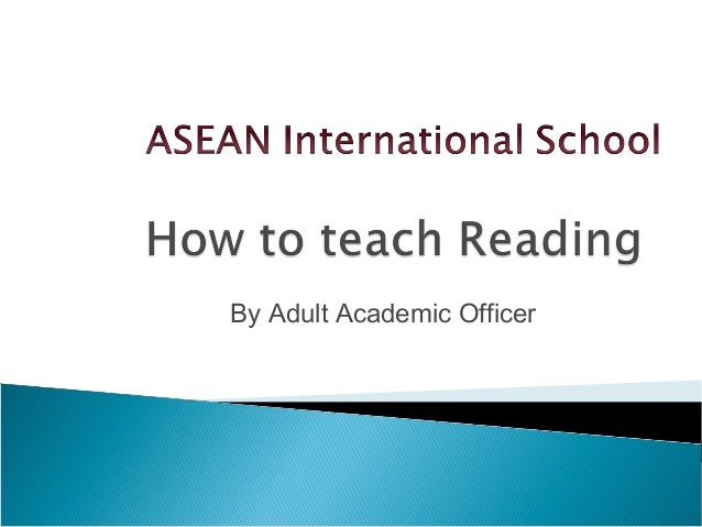 By Adult Academic Officer