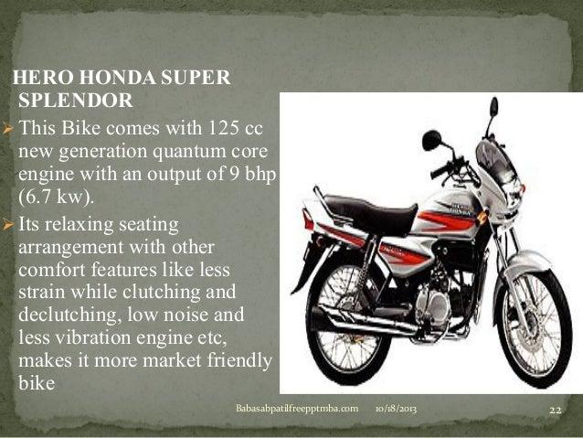 Hero Honda Marketing Strategy