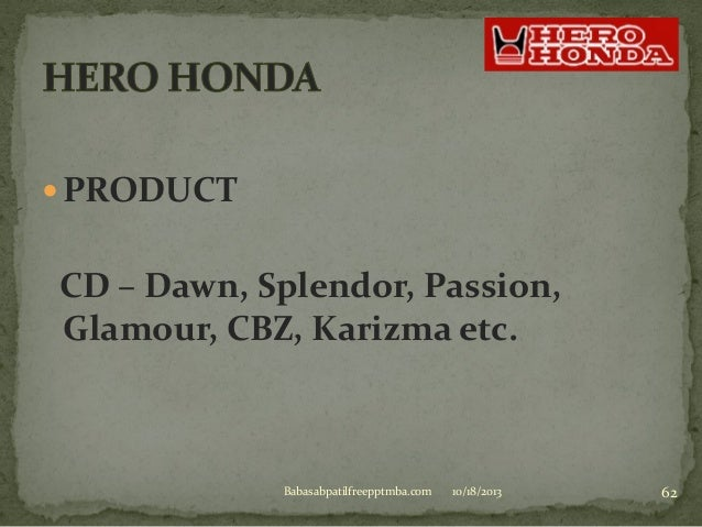hero honda marketing mix What is promotion mix  set of tools used by business effective  communication of benefits of products or services part of wider 'marketing.