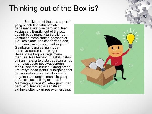 Hasil gambar untuk berpikir outside the box