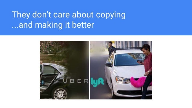 They don't care about copying ...and making it better
