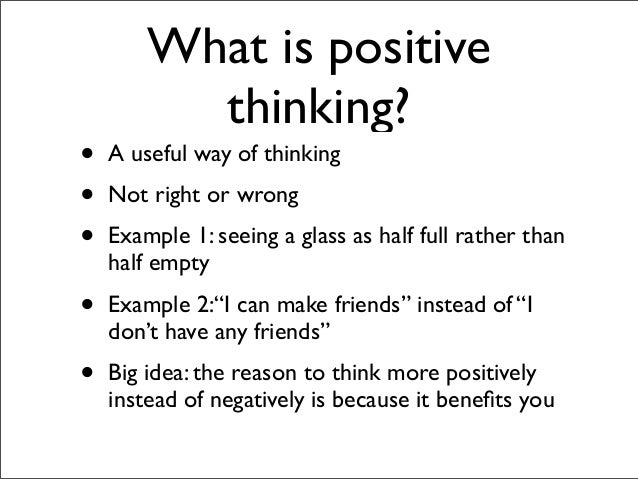 how to say negative things in a positive way