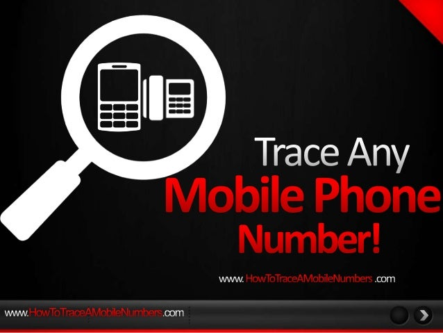 There are really only two reasons for you to trace a mobile phone number or how to find where a mobile phone is. Either yo...