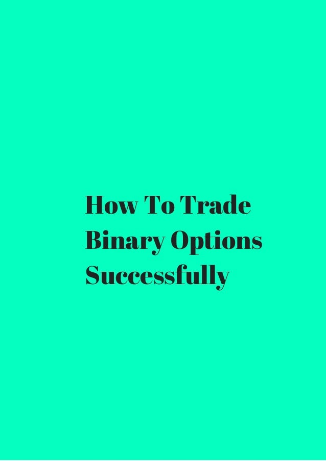 How to successfully trade options