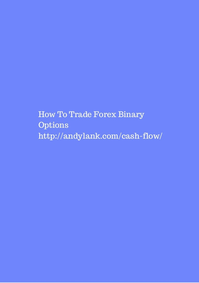 Where to trade forex options