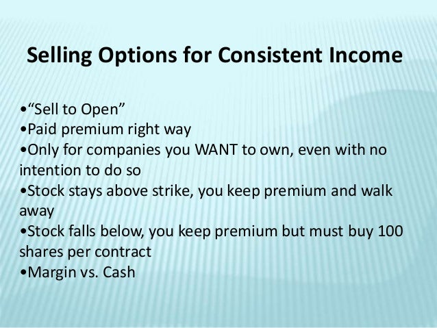How to trade in option
