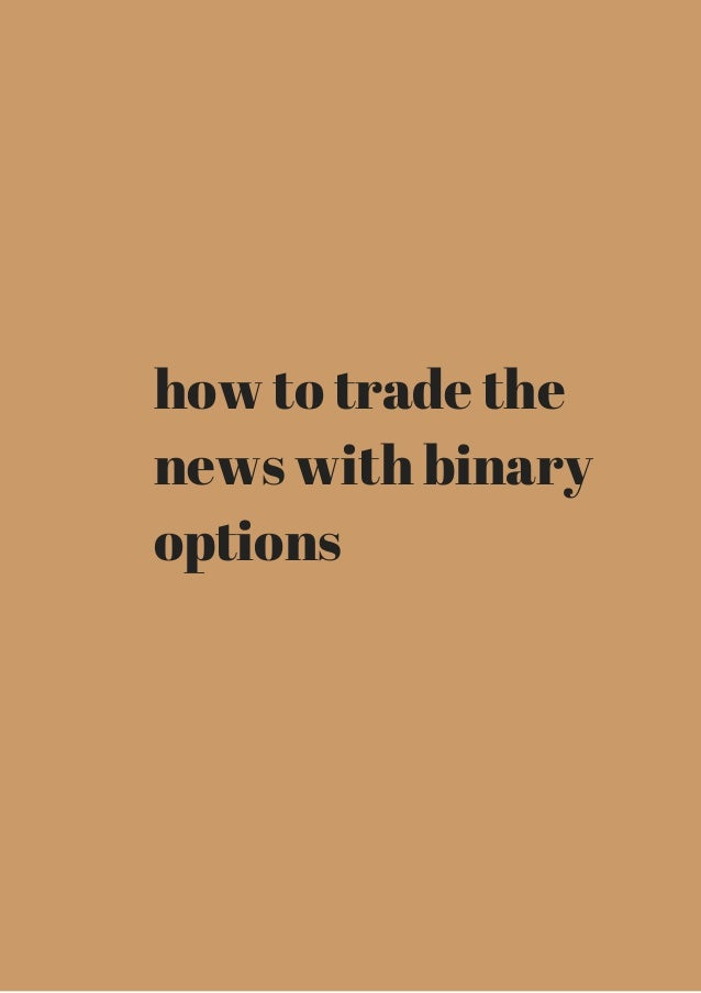 All you need to know about binary options