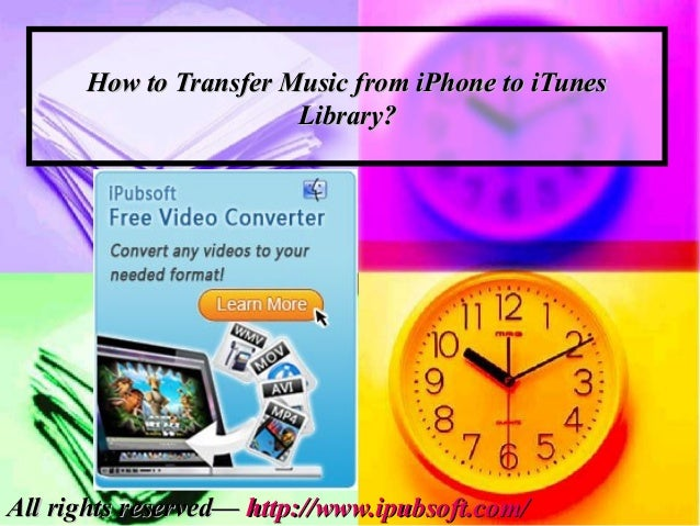 how to put music on phone from itunes