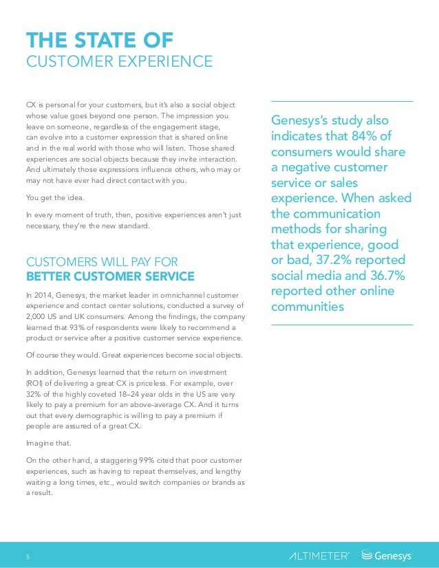 Genesys's study also indicates that 84% of consumers would share a negative customer service or sales experience. When ask...