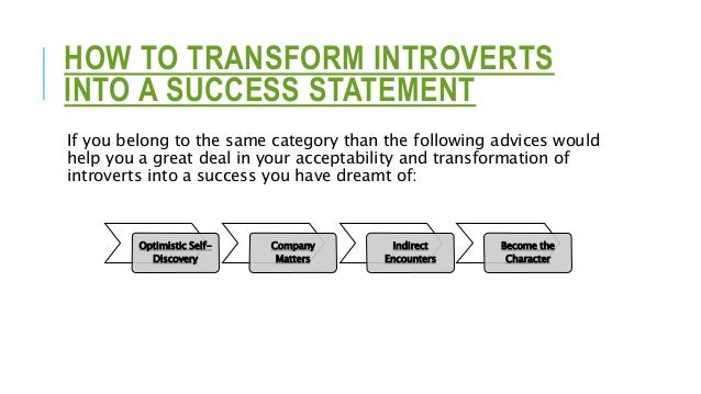 Optimistic Self- Discovery Company Matters Indirect Encounters Become the Character
