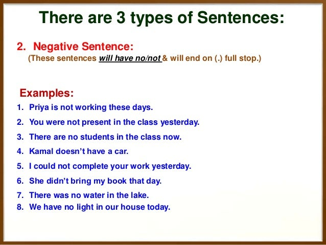 How To Transform Sentences Of English From Positive To
