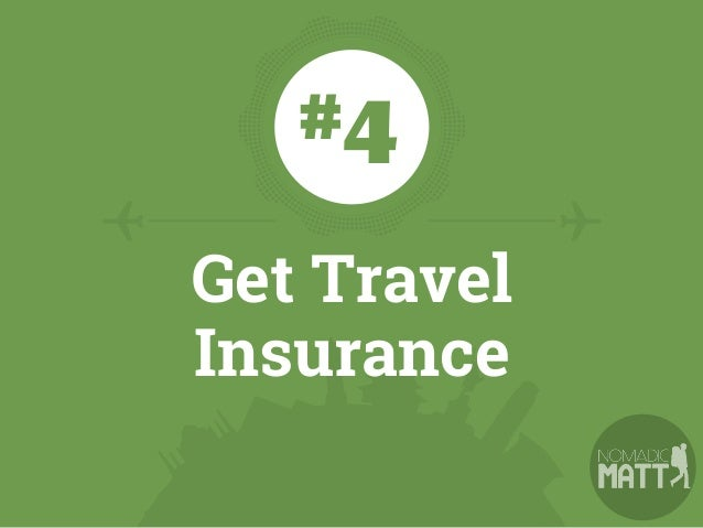 You never know what could happen on the road. Insurance covers you if you experience a medical emergency, you need to be e...