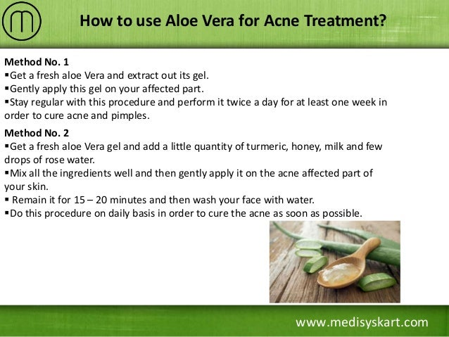 </p> <p>how to use aloe vera on face