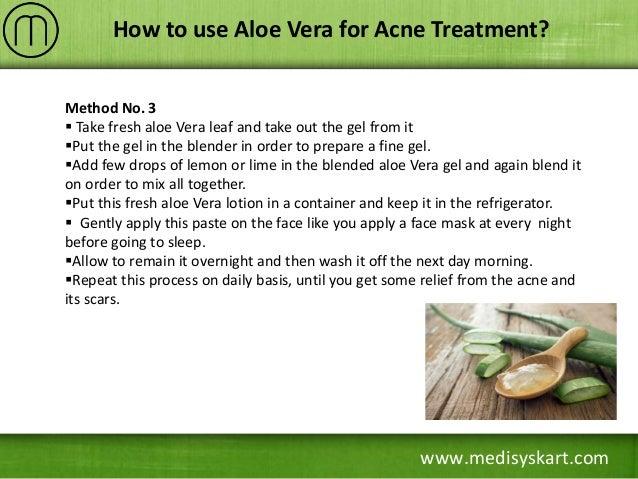 how to take aloe vera